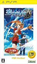 Used PSP Eiyuu Densetsu Sora no Kiseki FC SONY PLAYSTATION JAPAN IMPORT