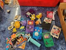 LOT 90s POKEMON NINTENDO TOYS KEYCHAINS FIGURES