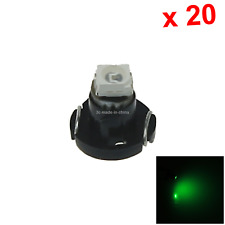 20x Green RV T3 Blub NEO Dash Twist Socket HVAC Instrument Lamp 1 1210 SMD LED N