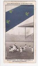 Churchman cigarette card - Well Known Ties #16 Scottish Rugby