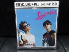 KPOP SUPER JUNIOR D & E Let's Get It On E.L.F.Japan w/photo card + special DVD