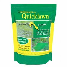 Gardener's Choice Quicklawn Lawn Seed- 2 Pound Bag (1000 Sq Ft)