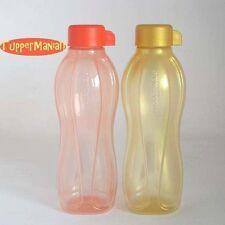 TUPPERWARE Eco Easy Flasche Gold + Koralle 500ml