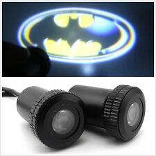 12V Car Door 3D Batman Badge Logo Ghost Shadow LED Laser Projector Light 2 Pcs