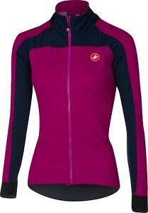 Castelli Women's Mortirolo 2 Windstopper Cycling Jacket : PURPLE : Small