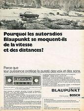 PUBLICITE ADVERTISING 055  1968  BLAUPUNKT   auto-radio