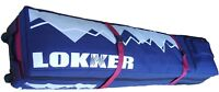 LOKKER TWIN Deck DOUBLE Snowboard Bag- 2 Boards,2 pairs of boots & all your gear