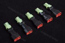 Lot(5) Mini-Tamiya Mini Tamiya Male to Female T-Plug Adapter for RC Power