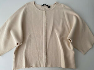 Country Road Biscuit Beige Knitted Top Size S