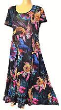 TS Dress Taking Shape Virtu Plus Sz XS / 14 Bouquet Floral Crushed A-line