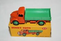 Dinky Toys 414 Dodge Rear Tipping Wagon. Orange & Green
