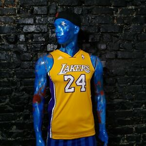 Bryant Los Angeles Lakers Jersey NBA Shirt Adidas Polyester Young