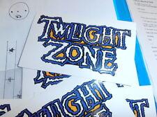 Twilight Zone Pinball Playfield Repair Decal Fix That Worn Playfield: Mr Pinball