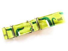 "1.5"" Martingale Dog Collar CROCODILE Greyhound Lurcher 12""-17"" MEDIUM"