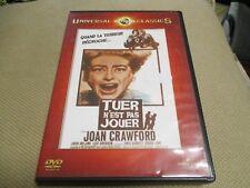 "DVD ""TUER N'EST PAS JOUER"" Joan CRAWFORD, John IRELAND / William CASTEL"