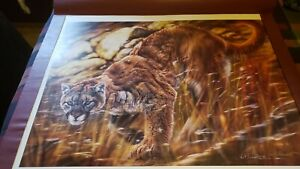 Sold out Rare Vivi Crandall Unframed Running on Empty...... Excellent Condition