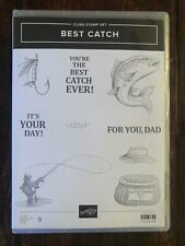 Stampin Up BEST CATCH Stamps & CATCH OF THE DAY Thinlits