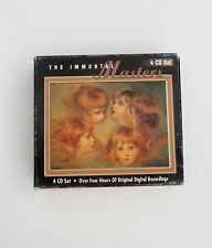 The Immortal Masters Volume 1-4 CD Set 4-Disc Bach-Beethoven-Mozart-Tchaikovsky