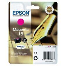 Genuine Epson 16 Pen Durabrite Ultra Magenta Ink jet Print Cartridge T1623 T1623