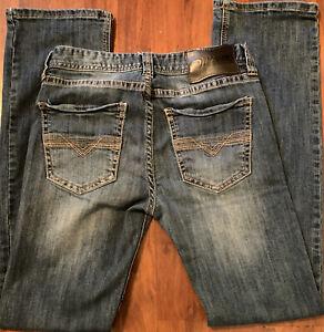 Rock & Roll Cowboy Denim 31X36 Pistol Regular Straight Leg Jeans Western