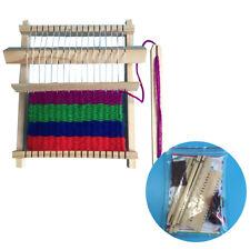 SN_ AG_ KM_ DIY Wooden Weaving Machine Loom Handicraft Intellectual Developmen