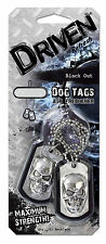 1 Carded, Refresh Driven Dog Tags Odor Eliminating - Novelty, Black Out