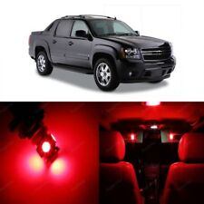 15 x Red LED Interior Light Kit For 2007- 2013 Chevy Chevrolet Avalanche + TOOL