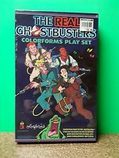 1986 The Real Ghostbusters Colorform Play Set