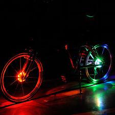 MTB-Fahrrad Moto Wasserdicht Beleuchtung Bike Reifen Radnabe Licht Lampe WEIß