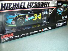2018 Michael McDowell #34 K-LOVE 1/24 FORD FUSION IN STOCK NEW
