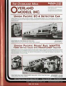 catalogo - Rivista OVERLAND MODELS MAIL Bulletin 137 2003  bb