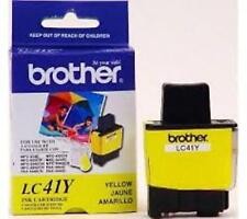 Brother LC41Y LC41 Yellow Ink Cartridge GENUINE!