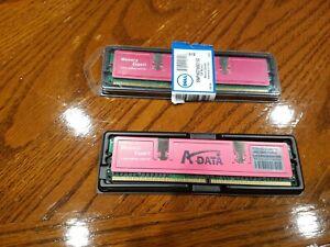 1GB (2x512MB) ADATA M2OAD6G3H3169/1E52 DDR2 PC2-6400 800MHz Memory