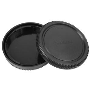 Camera Body Cap & Rear Lens Cap Compatible with Fujifilm G Mount