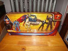 MAN OF STEEL, SUPERMAN, KRYPTONIAN INVASION 5-PACK, 3 WEAPONS, NIP, 2013