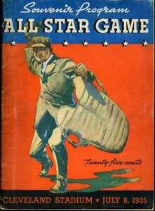 Dizzy Dean Joe Cronin JSA Coa Autograph Hand Signed 1935 All Star Program