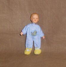 Puppenstubenpuppe, Miniatur 1:12, Caco (Canzler), Babyleiner Hosenmatz
