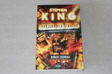 Stephen King - Sprzedawca Strachu   - POLISH BOOK - POLSKA KSIĄŻKA