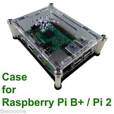 NEW Premium Clear Acrylic Case / Box / Enclosure For Raspberry Pi 2 / Pi B+ AU