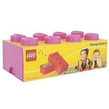 Lego Aufbewahrung Ziegel Kiste 8 dunkelrosa NEU Kinder 50cm x 25cm 18cm