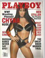 Playboy Magazine (November 2000) WWF WRESTLING PHENOM CHYNA NUDE