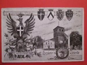 1926 REGNO cartolina militare CARABINIERI REALI - TRIESTE da PINGUENTE x CAPODIS