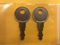2-Keys for Better Built & Kobalt tool boxes Key Code BB01 - BB10 Made in USA