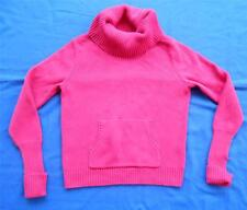 OLD NAVY ~ Hot Pink Cowl Neck Sweater ~ Juniors Size MEDIUM M