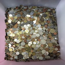 UNSEARCHED WORLD COIN FIVE POUND LB LOT! (5lb) Mixed Foreign Coin Lot by Weight