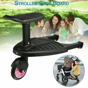 Toddler Standing Board With Seat Stroller Pram Pushchair Connect Load Extender