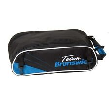 Team Brunswick Bowling Shoe Bag Black/Cobalt
