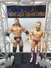 Daniel Bryan & Triple H Basic Series WWE Wrestling Action Figures