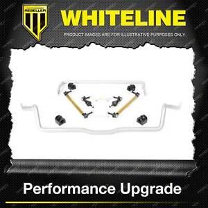 Whiteline Front + Rear Sway Bar - Vehicle Kit for Mazda Mazda3 BK BL