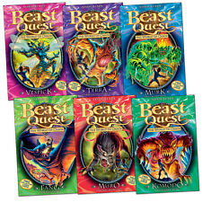 Beast Quest: Series 6 Collection Book Pack (6 books) RRP £29.94
